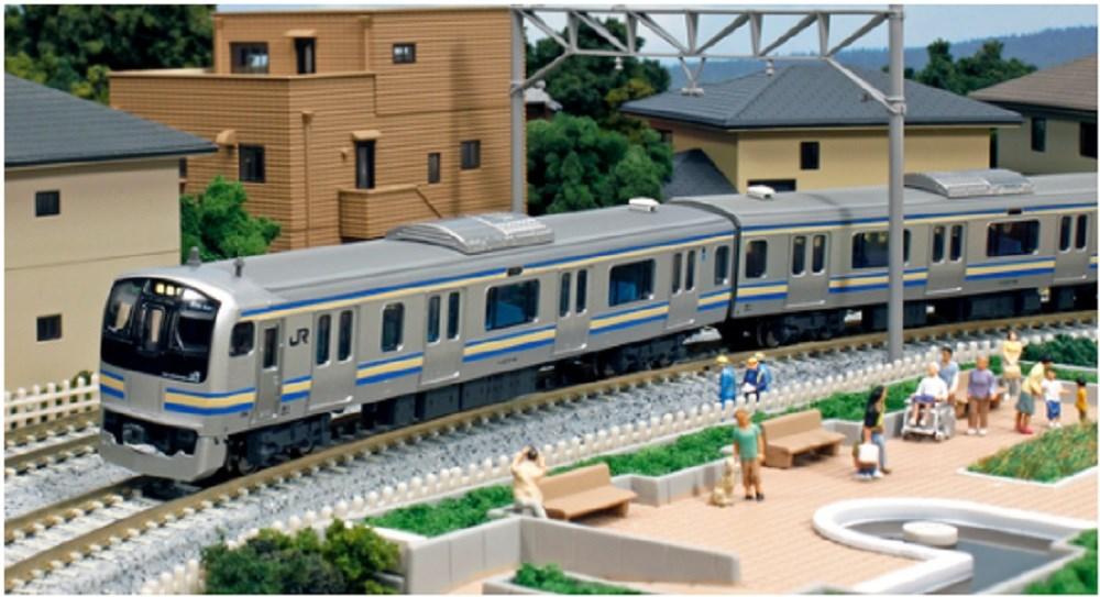 KATO Nゲージ E217系横須賀線・総武線(新色) 基本(4両) 鉄道模型 10-843