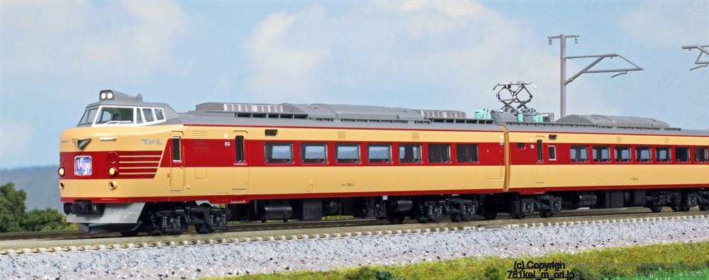 KATONゲージ 781系(6両) 鉄道模型 10-1327