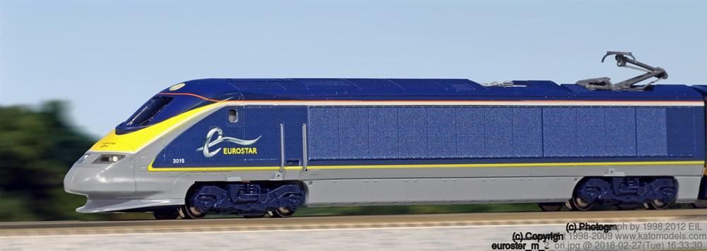 KATONゲージ ユーロスター新塗装(8両) 鉄道模型 10-1297