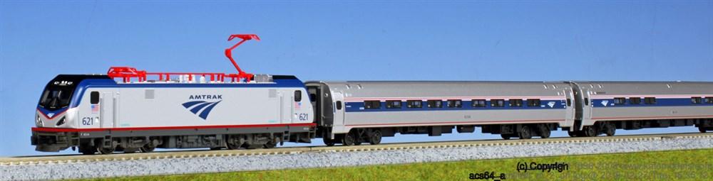 KATO Nゲージ アムトラック ACS-64・アムフリートI(5両) 鉄道模型 10-710-2