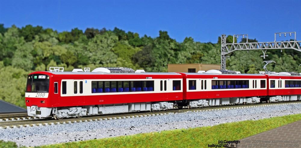 KATO Nゲージ 京急2100形 基本(4両) 鉄道模型 10-1307