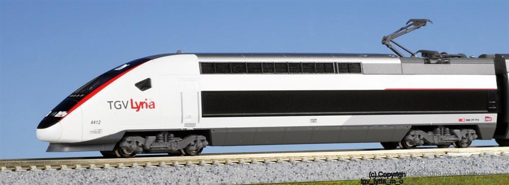 KATONゲージ TGV Lyria リリア (10両) 鉄道模型 10-1325