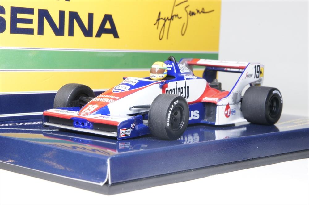 ミニチャンプス1/43 トールマン・ハート TG 183B No.19 1984 F1 ブラジルGP A.セナ セナ・コレクション 完成品ミニカー 540844339