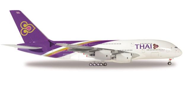 ヘルパウィングス1/200 A380-800 タイ航空 プハユハ・キヒリ HS-TUD 完成品 艦船・飛行機 HE556774-001