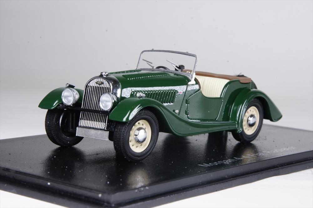 ネオ1/43 モーガン 4/4 Flat Radiator S1 1936 グリーン 右ハンドル仕様 完成品ミニカー NEO46236