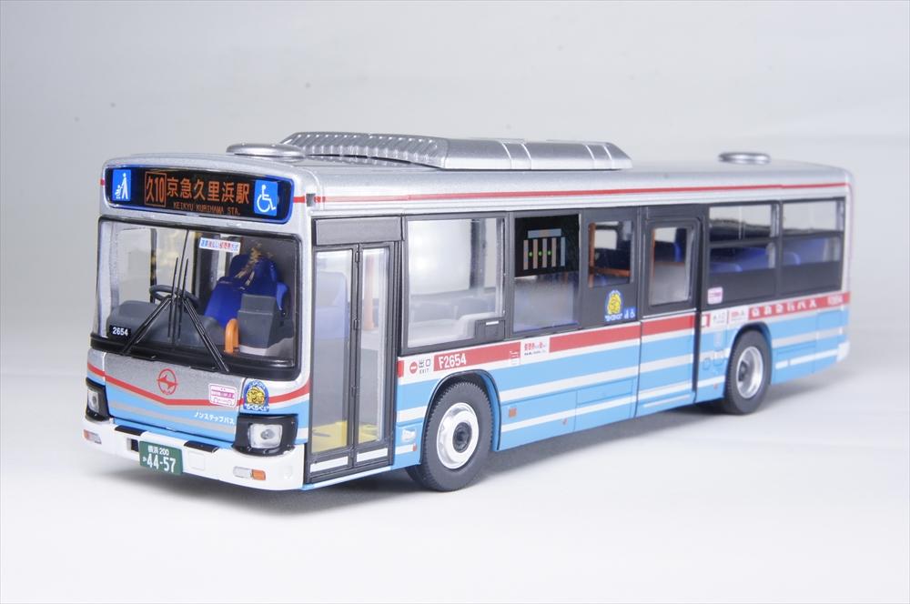 トミーテック 1/64 いすゞエルガ 京浜急行バス 完成品ミニカー LV-N139e