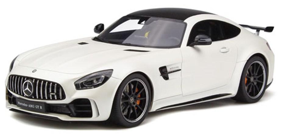 GTスピリット1/18 メルセデス AMG GT-R ホワイト 完成品ミニカー GTS021KJ