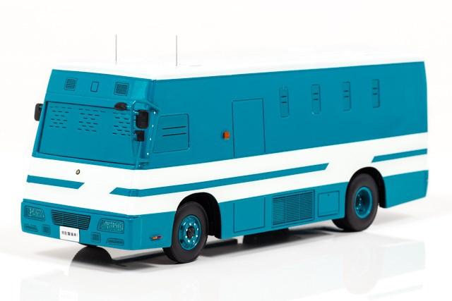 レイズ1/43 警察本部警備部機動隊常駐警備車両 完成品ミニカー H7430717