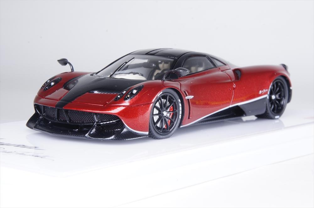 トゥルースケール1/43 パガーニ ウアイラ パチェット テンペスタ ロッソモンツァ 完成品ミニカー TSM430185