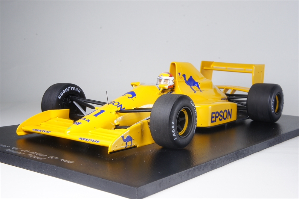スパーク1/18 ロータス 101 No.11 1989 F1 イギリスGP 完成品ミニカー 18S231