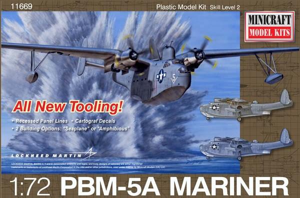 ミニクラフト1/72 マーチンマリナー PBM-5A スケールプラモデル MC11669