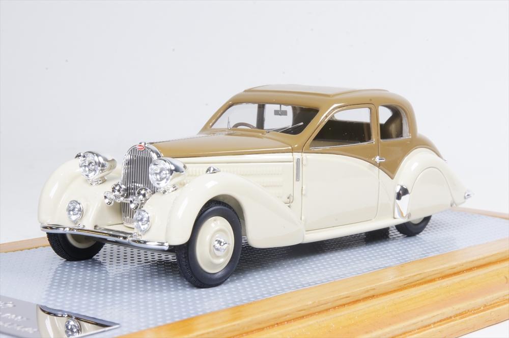 イラリオ1/43 ブガッティT57 コーチヴィトックスガングロフ 1937 オリジナル 完成品ミニカー IL43110