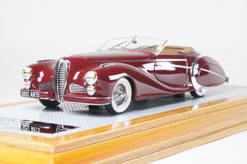 イラリオ1/43 ドライエ 135MS ロードスター パリ 1949 オリジナル 完成品ミニカー IL43114