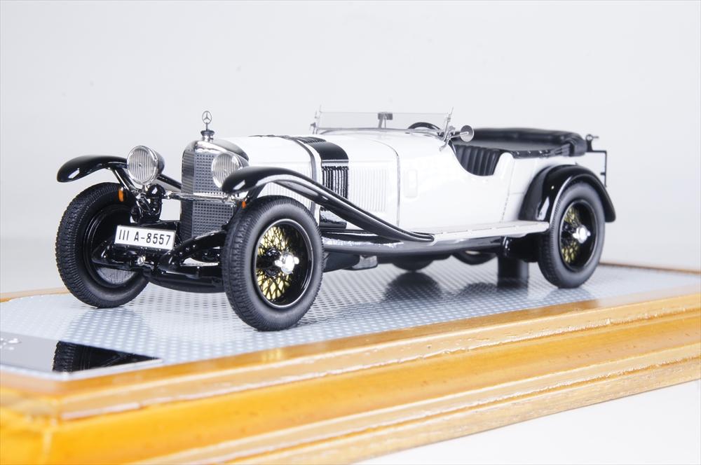 イラリオ1/43 メルセデスベンツ 680S ジンデルフィンゲン 1927 完成品ミニカー IL43118