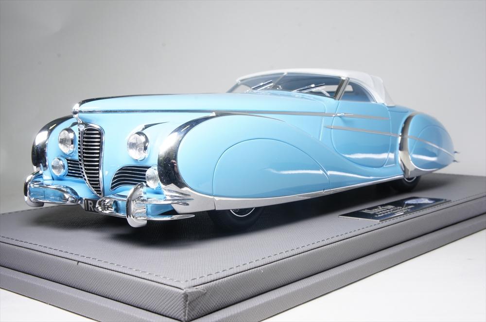 イラリオ1/18 ドライエ 175S トーピード Saoutchik 1949 完成品ミニカー IL1810