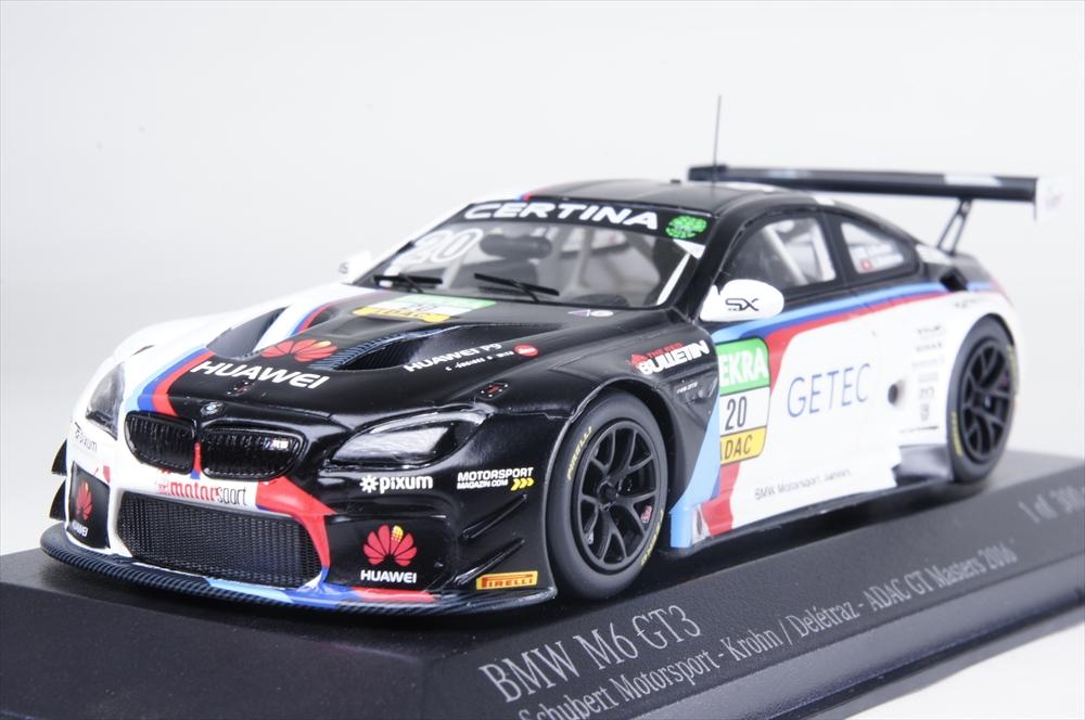 ミニチャンプス1/43 BMW M6 GT3 シューベルト・モータースポーツ 2016 ADAC GT マスターズ 完成品ミニカー 437162620