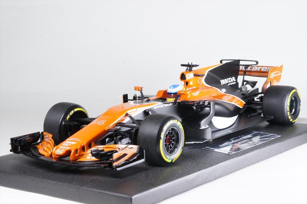 ミニチャンプス1/18 マクラーレン ホンダ MCL32 No.14 2017 F1 F.アロンソ 完成品ミニカー 537171814