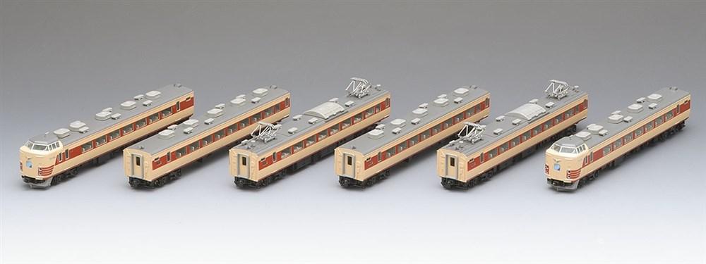 トミックスNゲージ 国鉄 183-0系特急電車(6両編成)6両セット 鉄道模型 92777
