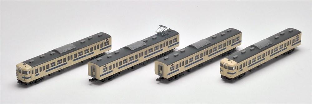 トミックスNゲージ JR 115-2000系近郊電車(瀬戸内色)4両セット 鉄道模型 98266