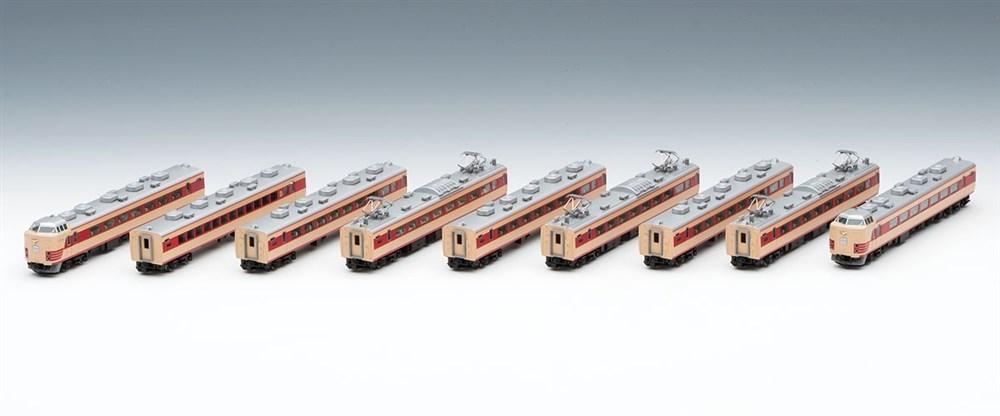 トミックスNゲージ 国鉄 183-0系特急電車(登場時)9両セット 鉄道模型 98975