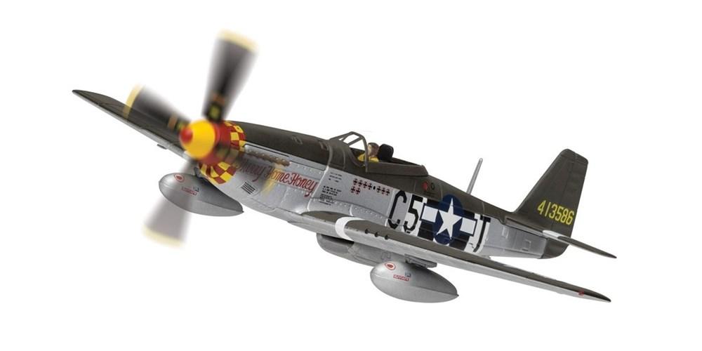 """コーギー1/72 ノースアメリカン P51-D マスタング """"Hurry Home Honey"""" 44-1473 完成品 艦船・飛行機 CGAA27705"""