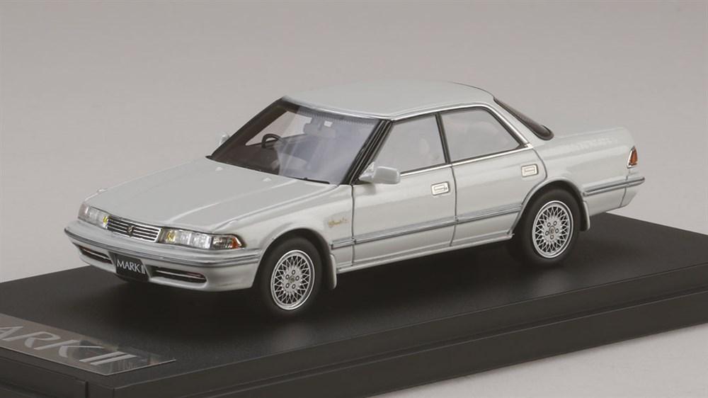 MARK43 1/43 トヨタ MKII ハードトップ 3.0グランデ G 1990 ホワイトパール 完成品ミニカー PM4386GPW