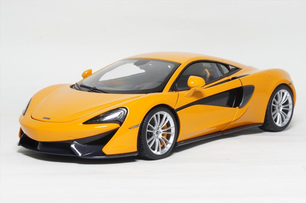 オートアート1/18 マクラーレン 570S オレンジ 完成品ミニカー 76044