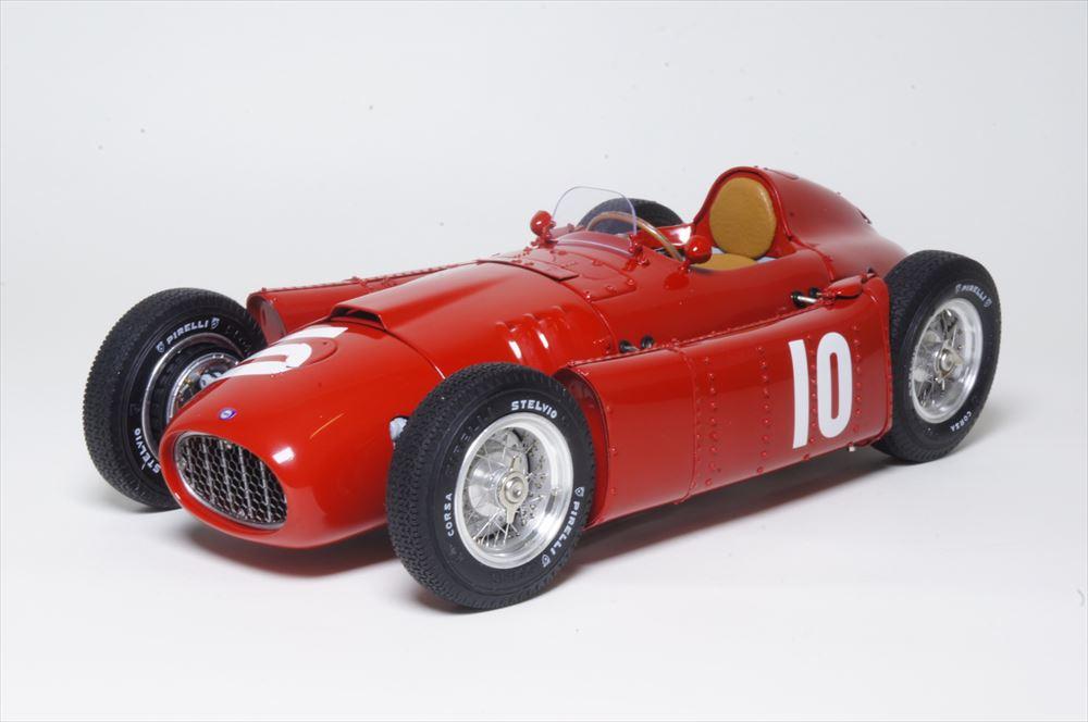 CMC1/18 ランチア D50 No.10 1955 ポーGP E.カステロッティ 完成品ミニカー M-178