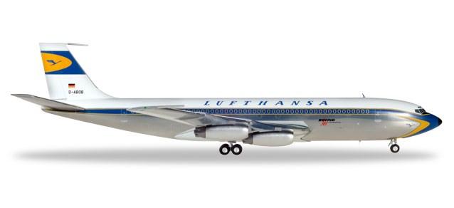 ヘルパウィングス1/200 707-400 ルフトハンザ航空 D-ABOB 完成品 艦船・飛行機 HE557818-001