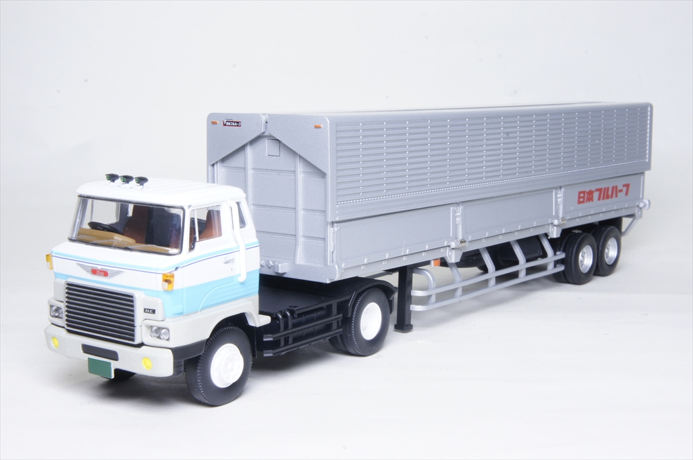 トミーテック 1/64 LV-N167a 日野HE366 ウィングルーフトレーラ 完成品ミニカー 284673