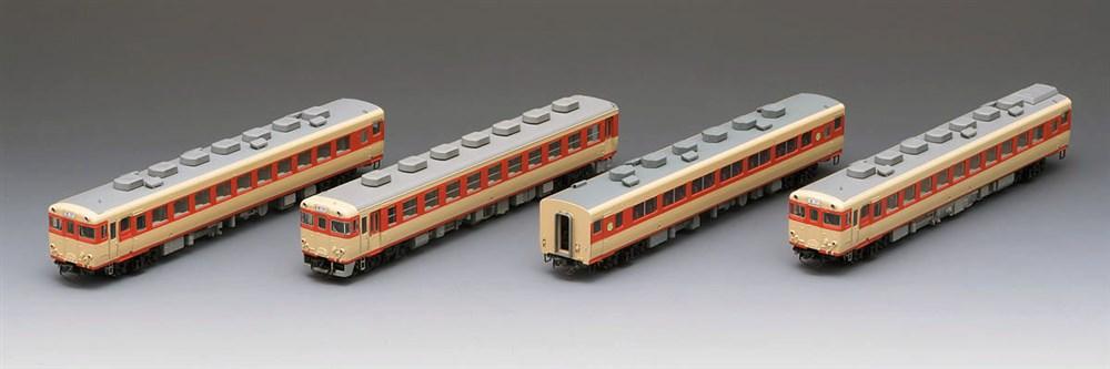 トミックス国鉄 キハ58系急行ディーゼルカー(由布) 4両セット 鉄道模型 98283