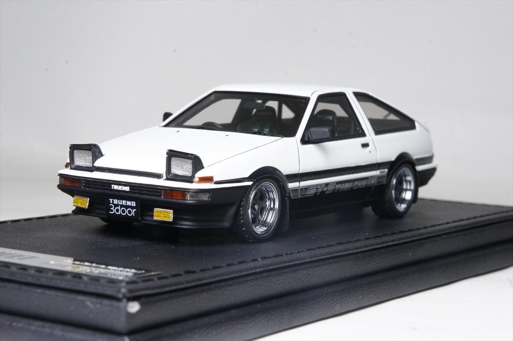 イグニッションモデル1/43 トヨタ スプリンタートレノ (AE86) 3Dr GT アペックス 完成品ミニカー IG1191