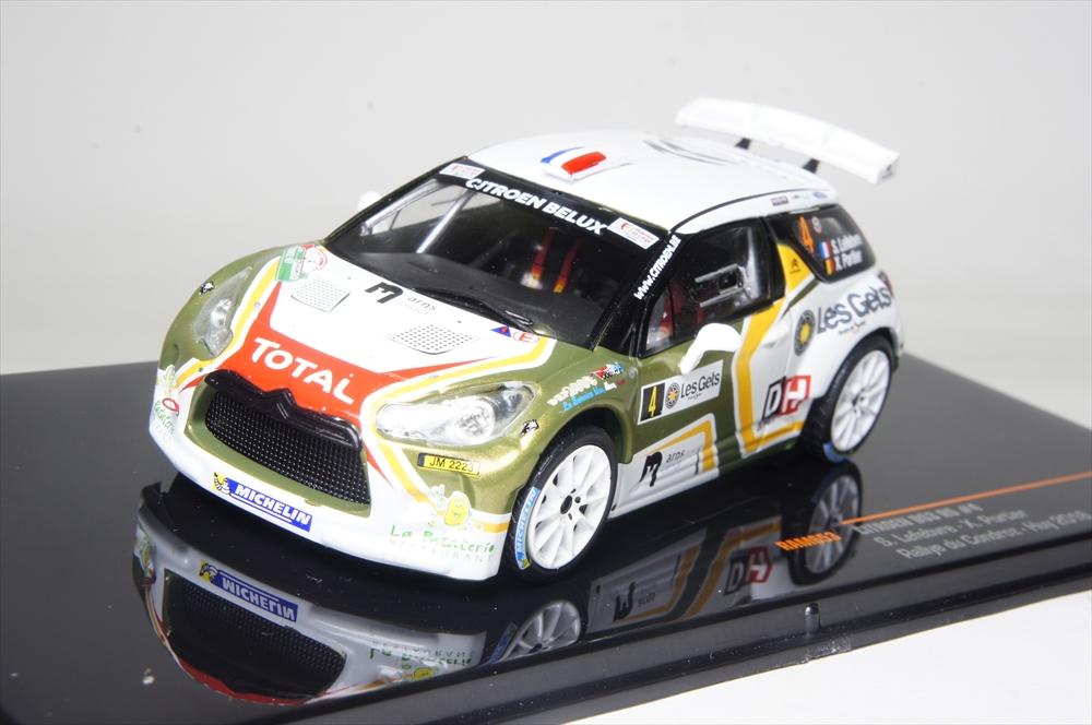 イクソモデル 1/43 シトロエン DS3 R5 No,4 2016 WRC ベルギーターマックラリー 完成品ミニカー RAM653