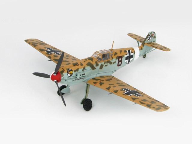 ホビーマスター1/48 メッサーシュミット Bf 109E-7/Trop 完成品 艦船・飛行機 HA8703