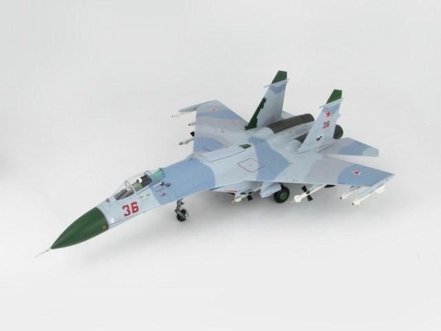 ホビーマスター1/72 Su-27 フランカーB型 ソビエト連邦防空軍 1987 完成品 艦船・飛行機 HA6001