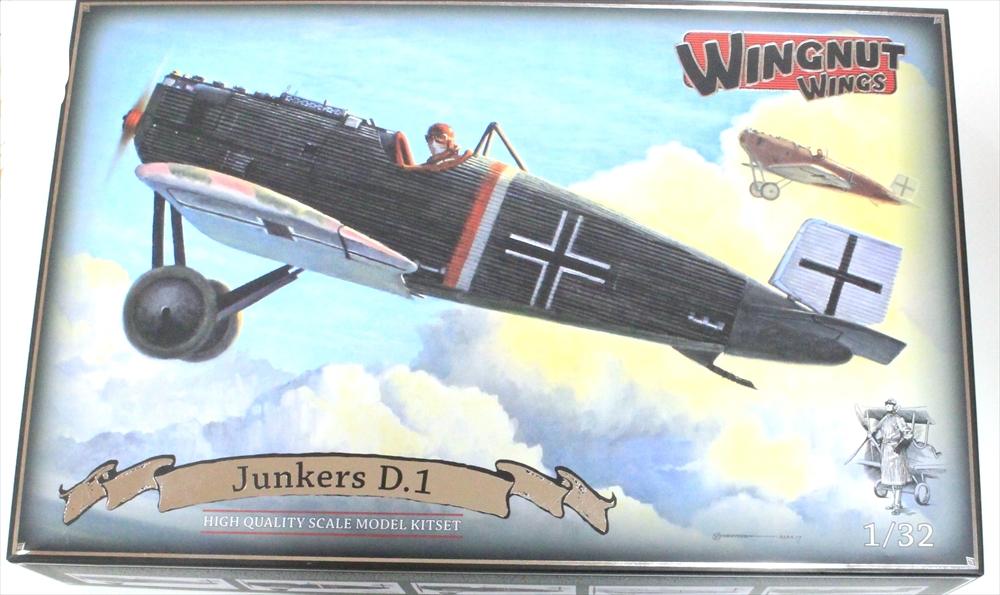 ウィングナットウィングス1/32 ユンカース D.1 スケールプラモデル WNG32065