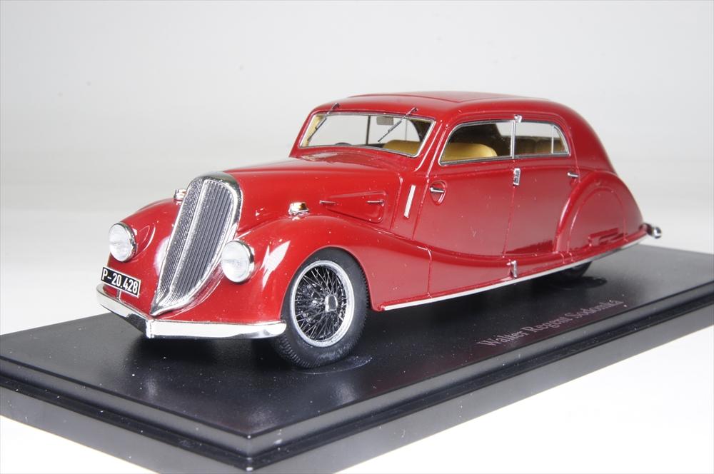 オートカルト1/43 ウォルター リージェント ソドムカ 1934 チェコ レッド 完成品ミニカー 4014