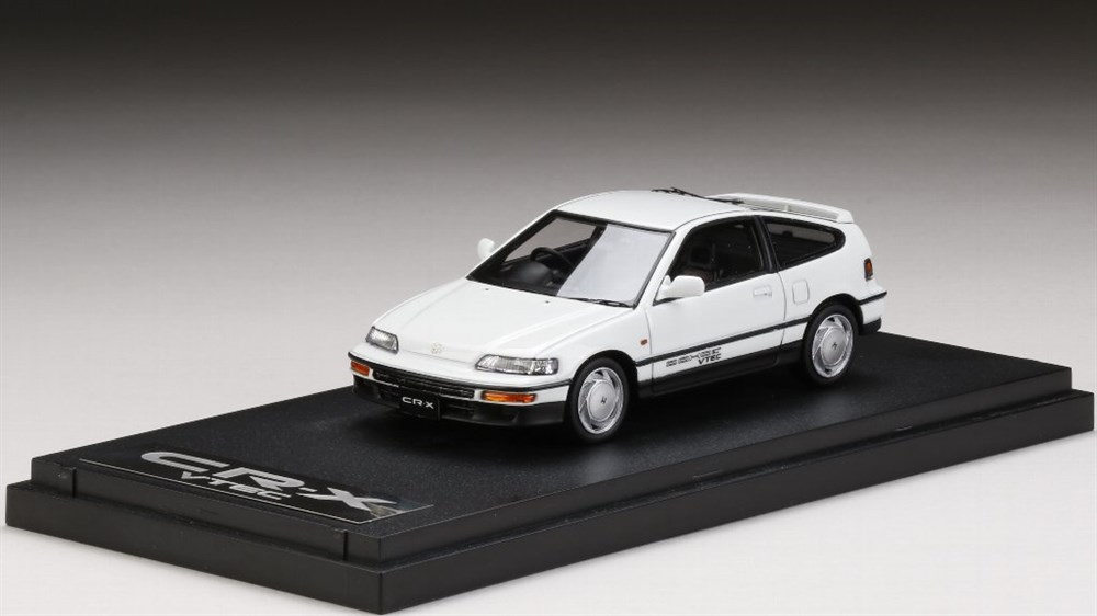 MARK431/43 ホンダ CR-X SiR (EF8) 1989 ホワイト 完成品ミニカー PM4392W