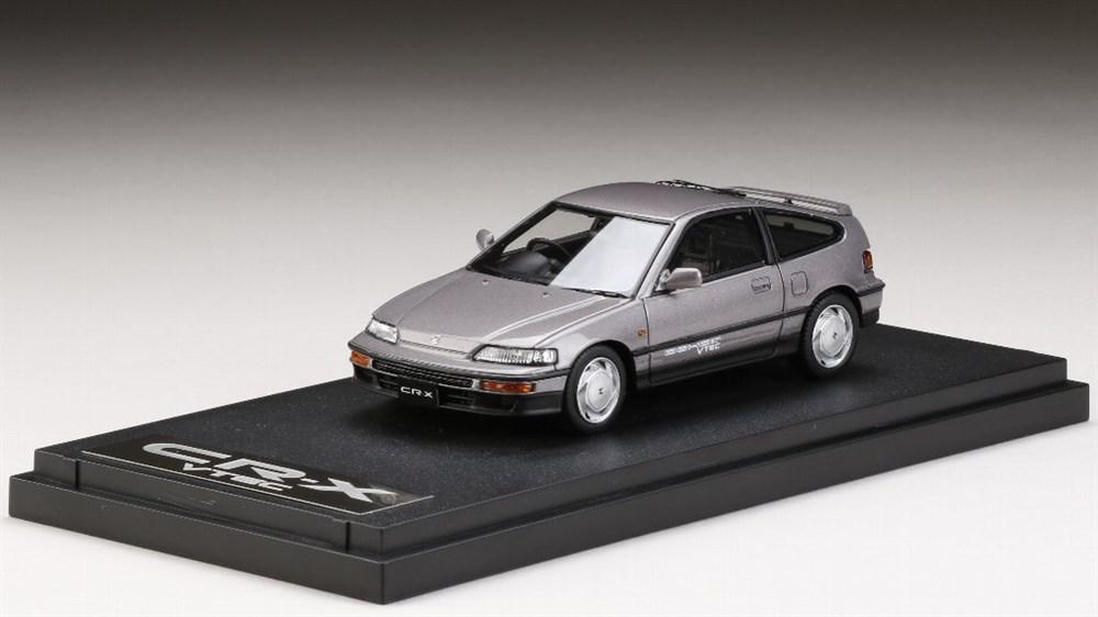 【予約】 MARK431/43 ホンダ CR-X SiR (EF8) 1989 グレーメタリック 完成品ミニカー PM4392GM