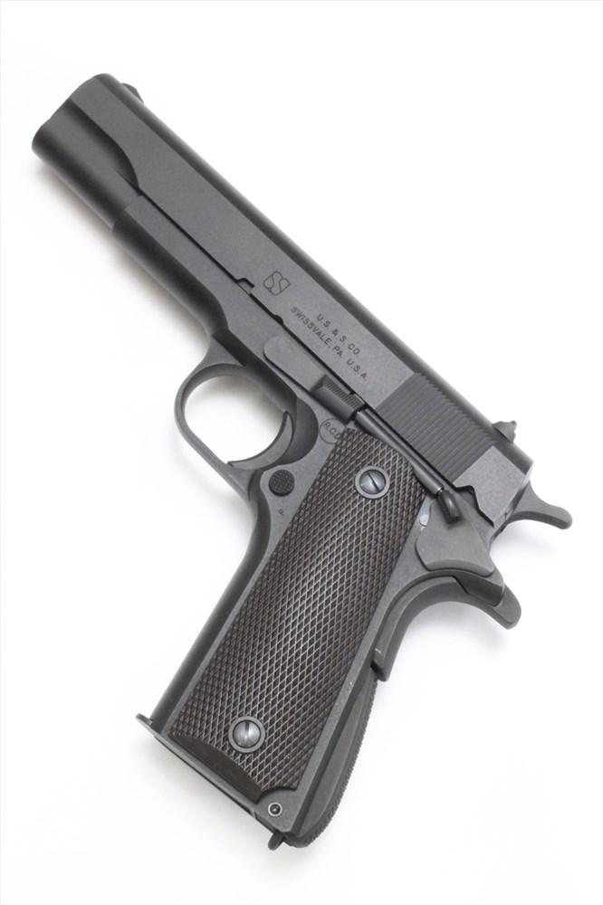 六研/エランモデルガン ユニオンスイッチ&シグナル M1911A1 DUOブローバックモデル モデルガン 109005960000