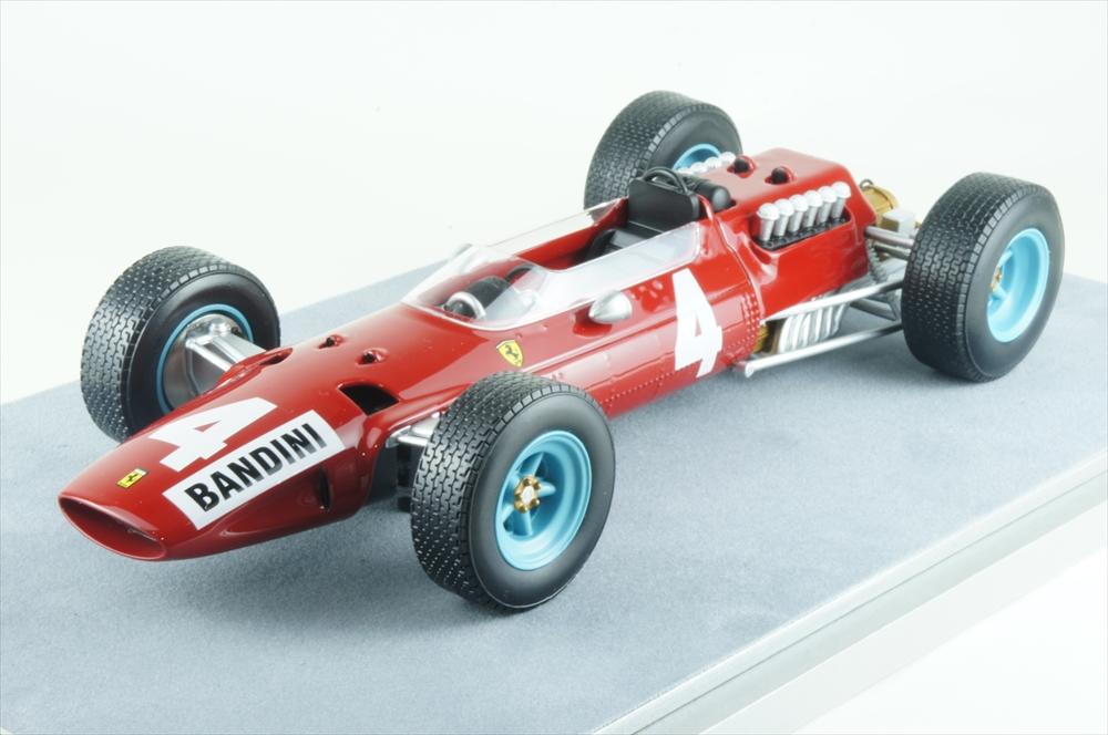 テクノモデル1/18 フェラーリ 512 No.4 1965 F1 イタリアGP 完成品ミニカー TM18-98A
