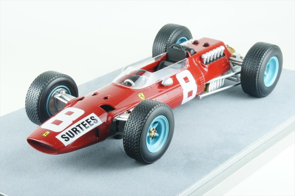 テクノモデル1/18 フェラーリ 512 No.8 1965 F1 イタリアGP 完成品ミニカー TM18-98B