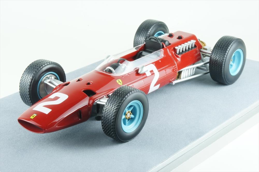 テクノモデル1/18 フェラーリ 512 No.2 1965 F1 オランダGP 完成品ミニカー TM18-98C