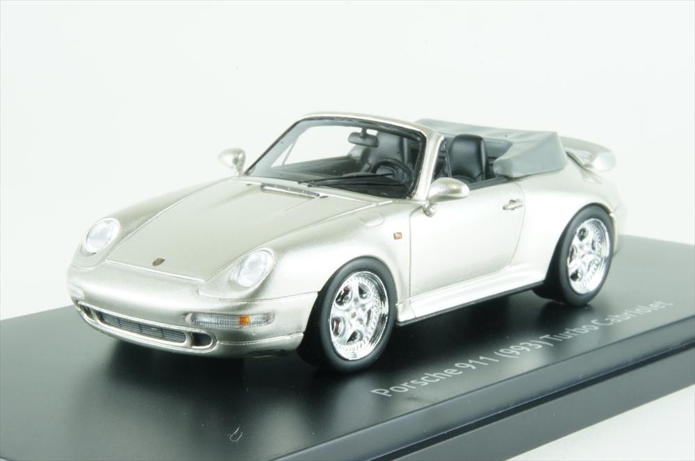 シュコー1/43 ポルシェ 911 カブリオレ グレー 完成品ミニカー 450887900
