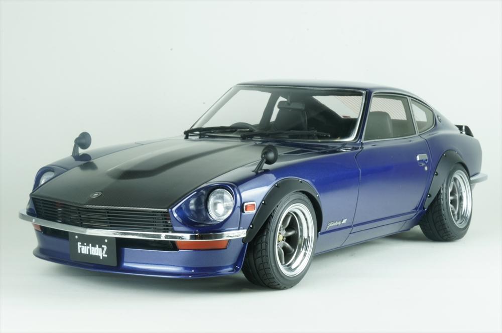 イグニッションモデル1/12 日産 フェアレディ Z (S30) ブルー 宮沢模型流通限定 完成品ミニカー IG1441