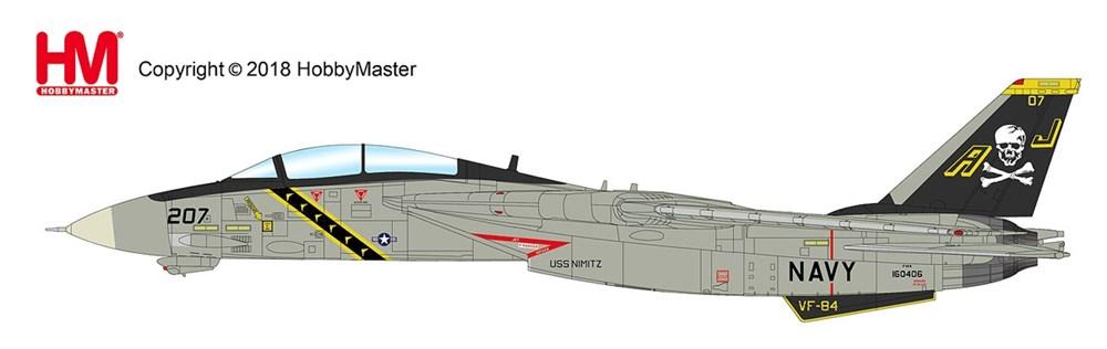 ホビーマスター1/72 F-14A トムキャット第84戦闘飛行隊