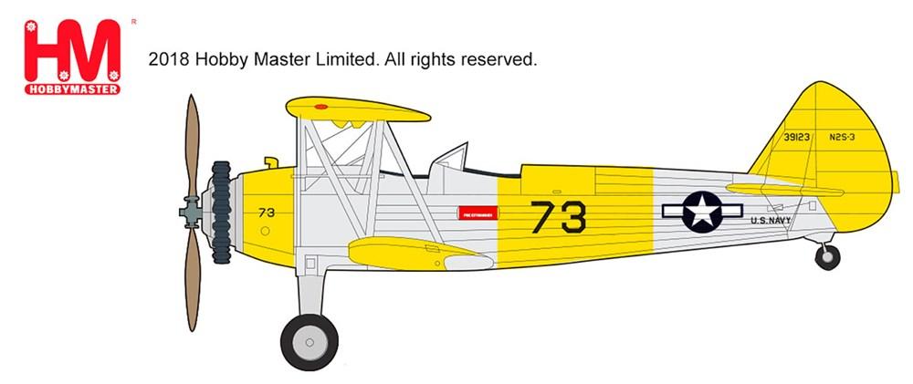 ホビーマスター1/48 ステアマン N2S-2 ケイデット