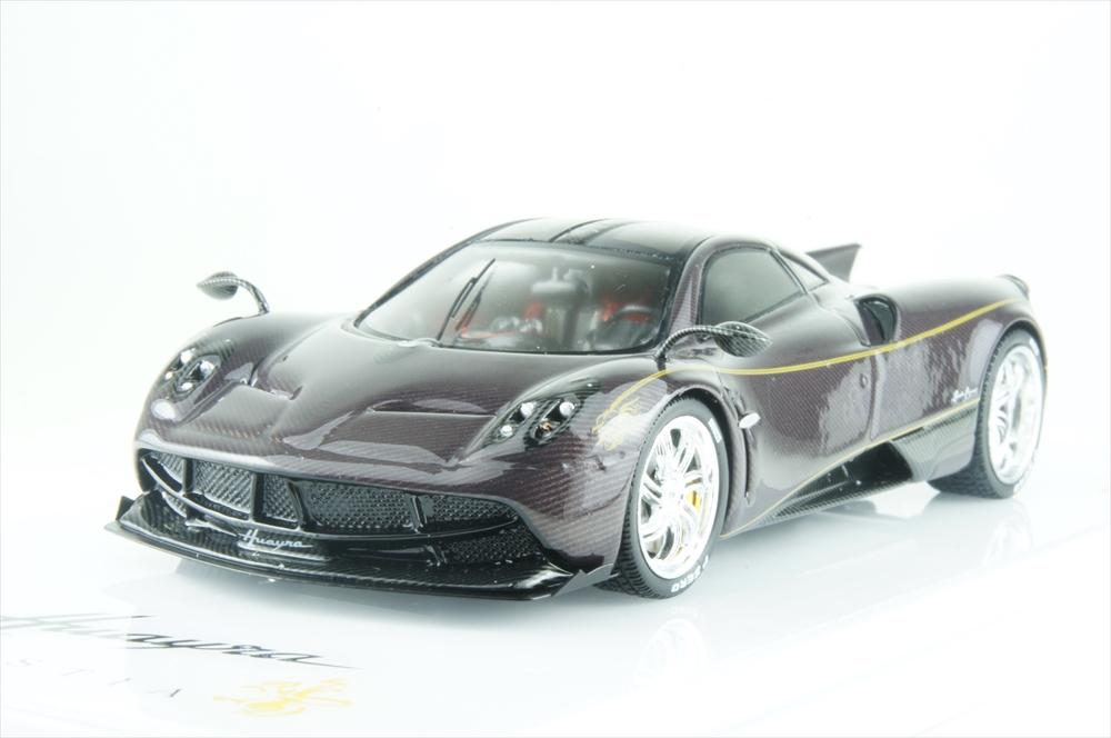 トゥルースケール1/43 パガーニ ウアイラ ディナスティア ヴァイシャ レッドカーボン 完成品ミニカー TSM430120