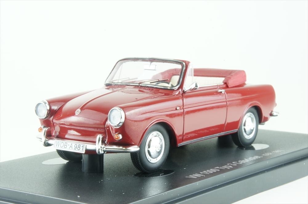 アベニュー431/43 VW 1500 タイプ3 コンバーチブル レッド 完成品ミニカー 60003