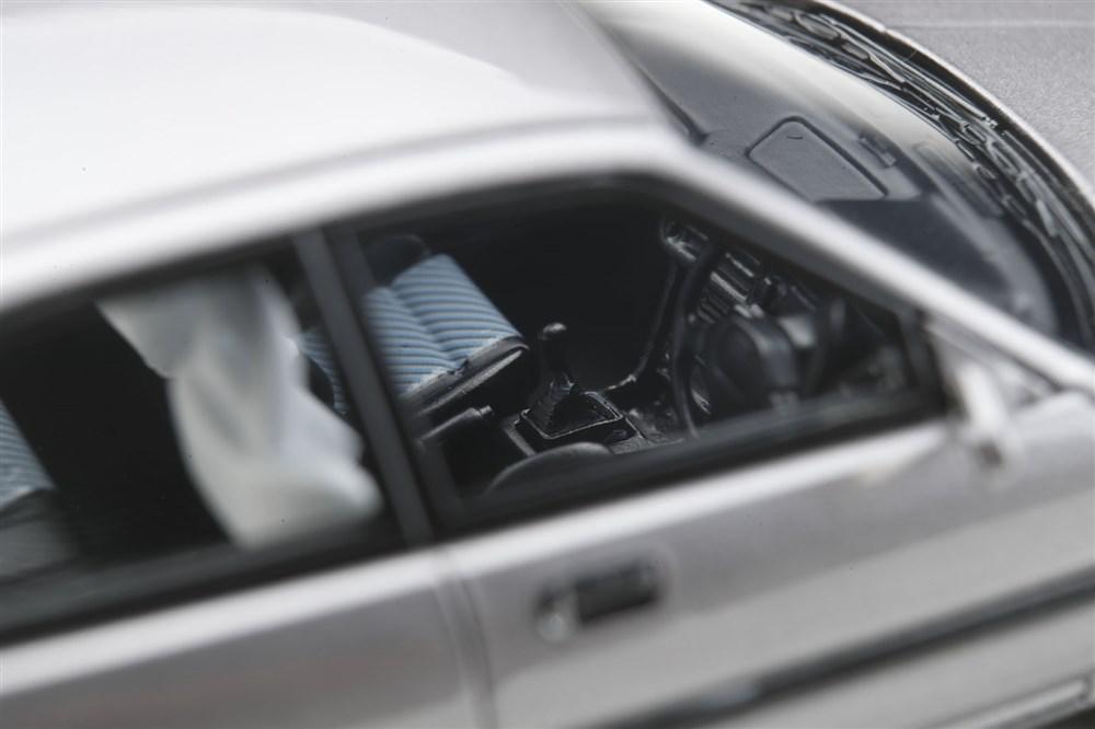 【ポストホビー限定】1/43ホンダインテグラ(DA7)RXi1991純正シートカバー(高級タイプ)グレーメタリック完成品ミニカーPM4394RPH
